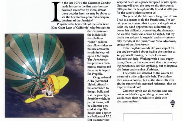 Ballooning Magazine