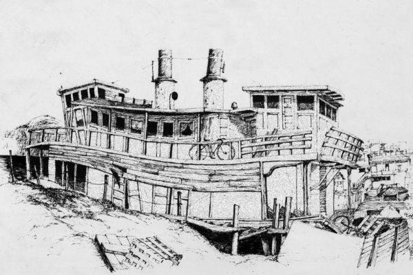 Sausalito Houseboat '74