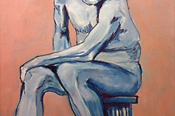 Girl on a Stool