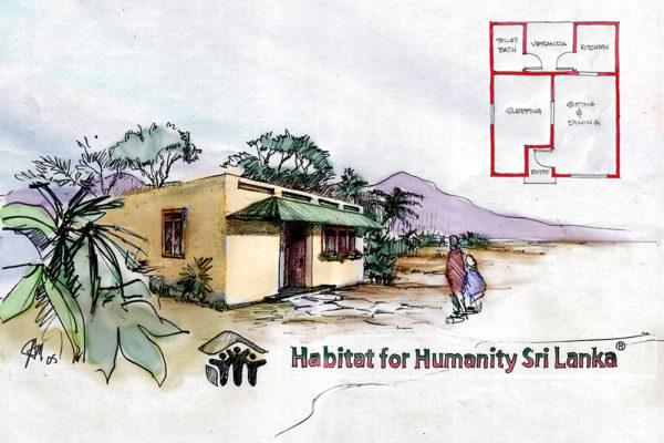 Sri Lanka Model House 1
